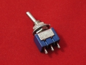 Тумблер MTS-102 AC 6A/125V, 3A/250V, 2 позиционный, с фиксацией