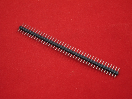 Контакты для пайки 40шт (прямые, шаг 2.0 мм)
