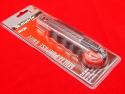 Нож MATRIX с сегментированным лезвием 18 мм метал. направляющая, обрезиненная ручка + 5 лезвий MATRIX MASTER