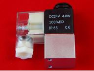 Двухходовый электромагнитный клапан к пневмоцилиндру 2V025-08 [DC24V]