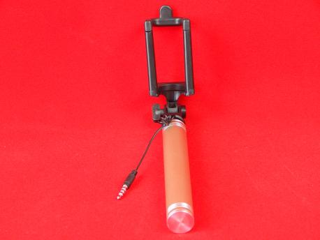 Монопод D5 проводной с кнопкой для смартфона