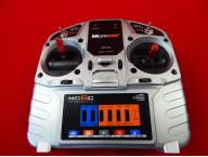 6-ти канальная аппаратура Microzone mc6с 2.4ghz c литиевой батареей 2S