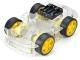 4-колесное автомобильное шасси с двигателями