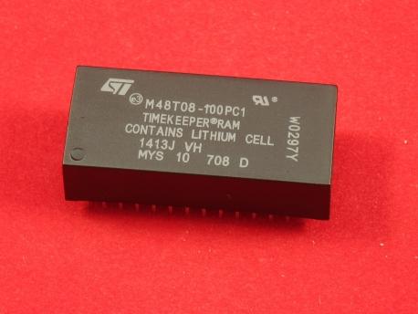 M48T08-100PC1, Часы реального времени