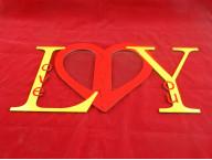 Фоторамка Love you