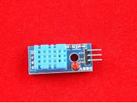 Датчик температуры и влажности DHT11 на плате
