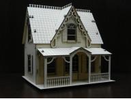 """Сборная деревянная модель """"Кукольный дом"""""""