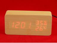 Электронные часы VST-862S (клен)