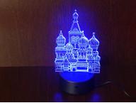 3D Светильник Храм Василия Блаженного