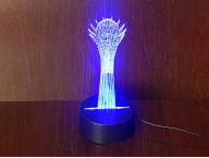 3D Светильник Байтерек