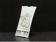 Подставка для телефона Кот Саймона с миской