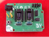 Плата расширения ZumScan для 3D принтера/сканера Ciclop