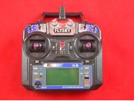 6-канальная аппаратура управления FlySky FS-I6 2.4GHz с приёмником IA6B (с телеметрией)