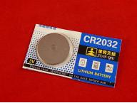 CR2032 (DL2032), Элемент питания литиевый, 3В
