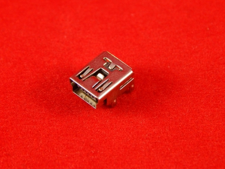 Разъем Mini USB 5pin (DIP)