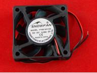 Snowfan YY6015H12S, Вентилятор, 60 мм, Черный