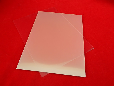 Прозрачная плёнка для струйного принтера (А4, 1 лист)