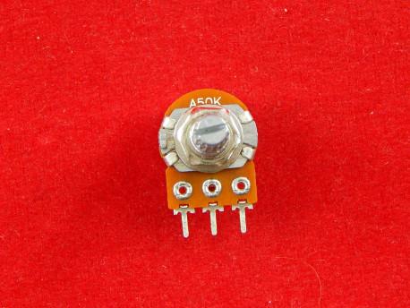 Резисторы переменные логарифмические WH148-1A (Потенциометр) (Вал: 20 мм)