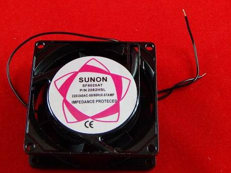 Вентилятор Sunon SF8025AT, без разъема