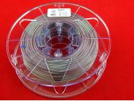 Пластик FLEX 1.75 мм Серебристый, вес 0.5 кг