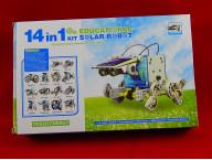 Конструктор Solar 14 в 1 для создания 14 роботов, работающих на солнечных батареях