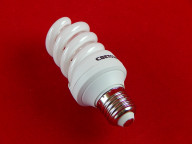 """Энергосберегающая лампа СВЕТОЗАР """"ЭКОНОМ"""" спираль,цоколь E27(стандарт),Т3,яркий белый свет(4000 К), 8000час, 15Вт(75)"""