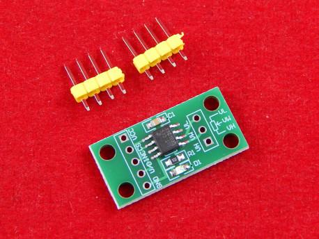 Цифровой потенциометр X9C103S 10 кОм