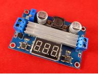 DC-DC преобразователь 3-35V 100W с вольтметром