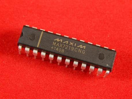 MAX7219CNG Драйвер 8-и разрядного индикатора