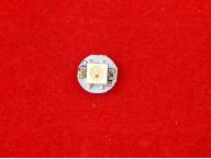 WS2812B Светодиод SMD 5050 RGB на белой плате с пиксельной адресацией
