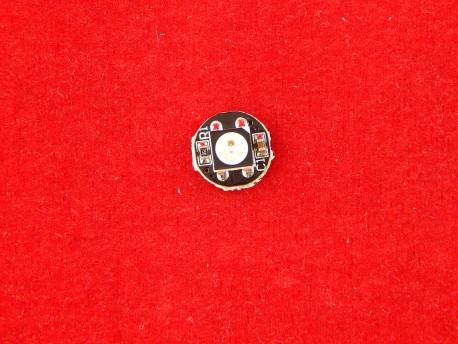 WS2812B Светодиод SMD 5050 RGB на черной плате с пиксельной адресацией