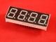 Четырёхразрядный цифровой индикатор (часовой, общий катод)