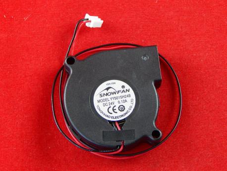 Snowfan YY5015H24B Кулер, 24В, 50 мм, Черный