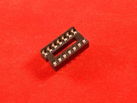 DIP панель 14 контактов узкая