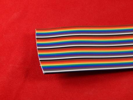 Кабель цветной 40 проводов 2.54MM (1 метр)