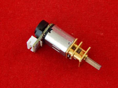 Двигатель с редуктором 500 обр/мин 6В