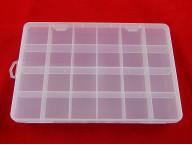 Органайзер 24 ячейки (не регулируемые) 200х135