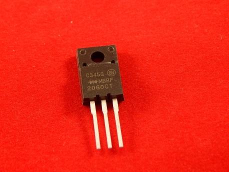 MBR2060CT Сдвоенный, с общим катодом, диод Шотки