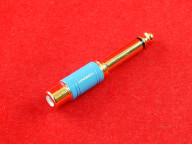 Переходник RCA - Jack 6,3мм моно