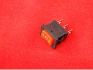 KCD1 Переключатель красный трехпозиционный ON-OFF-ON (10A 250VAC) 3P