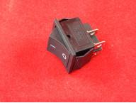 KCD4 Переключатель черный ON-OFF (15A 250VAC) 4P