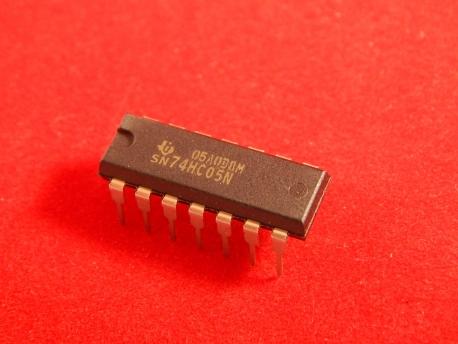SN74HC05N, Микросхема DIP14