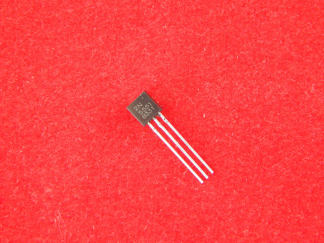 2N5551 Биполярный транзистор NPN, 180 V, 0.6 A, TO92