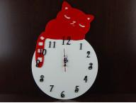 Часы настенные Котик