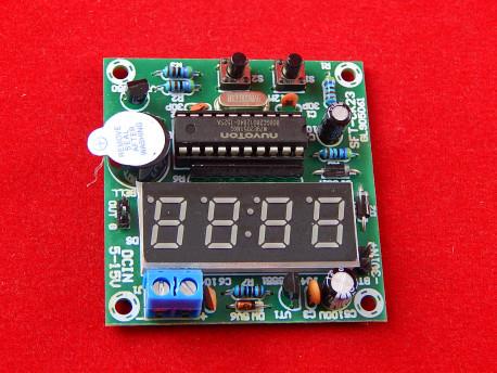 AT89C205 Часы с будильником в сборе