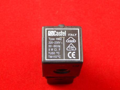 Castel 9100/RA6 HM2 Катушка для соленоидных вентилей (220V)