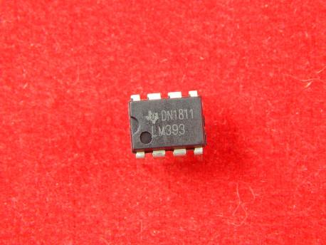 LM393N, Компаратор сдвоенный ±18В/36В