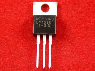 LM1086IT Стабилизатор 3,3 V 1,5 А