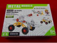 Конструктор металлический «Мини-экскаватор», 78 деталей