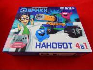 Конструктор радиоуправляемый «Нанобот», 4 варианта сборки, 243 детали